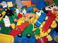 LEGO DUPLO 1 KG  BAUSTEINE DUPLOSTEINE MÄNNCHEN AUTO TIER