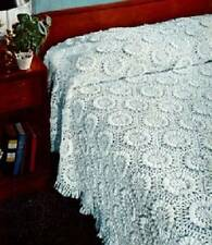 Vintage Crochet Pattern Sunflower Bedspread motif PATTERN ONLY