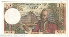 10 Francs Voltaire 07/12/1972 SUP ( 052 )