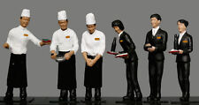 "Kato 24-283 Model People ""Dining Car Staff (Twilight Express)"" (N scale)"