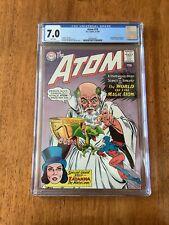 Atom 19 CGC 7.0 FN/VF White Pgs 2nd appearance Zatanna 1st Cover