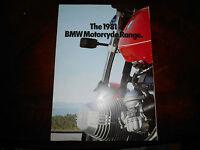 NOS BMW OEM 1981 Motorcycle Range Brochure R100 R80 R65 CS G/S RS RT