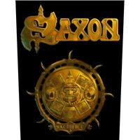 Saxon Sacrifice Back Patch Official Heavy Metal NWOBHM New