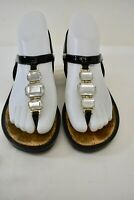 PRADA Black Leather SANDALS Women's Shoes Size 37- 6.5M On Sale my
