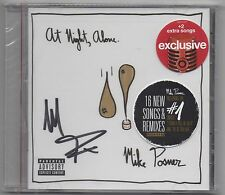 Mike Posner At Night Alone Deluxe Edition Autographed Target Exclusive CD