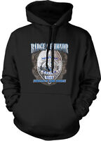 Badge Of Honor Policeman Protect And Serve Police Officer Cop Hoodie Sweatshirt