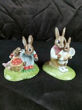 More details for royal doulton bunnykins strawberries db277 & tennis  db278 limited ed