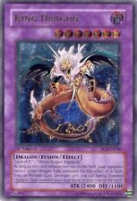 Yugioh King Dragun FET-EN036 1st Ed Ultimate Moderately Played Fast Shipping!