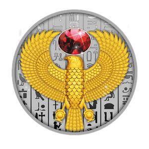 FALCON the symbol of ancient Egypt $1 Silver coin 999 silver Niue 2020