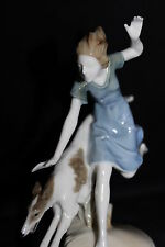 OFFER Art Deco Hutschenreuther Porcelain figurine Tomboy K Tutter china figure