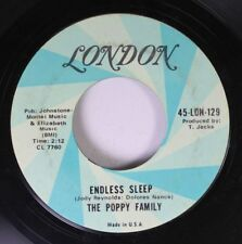 Rock 45 The Poppy Family - Endless Sleep / Which Way You Goin' Billy? On London