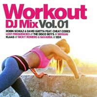 WORKOUT DJ MIX VOL.1 Jayage,Nora En Pure,Housefly,Lost Frequencies  2 CD NEW+