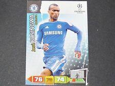 JOSE BOSINGWA CHELSEA BLUES UEFA PANINI CARD FOOTBALL CHAMPIONS LEAGUE 2011 2012