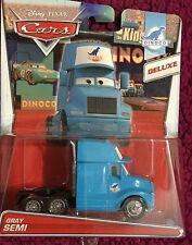 CARS - GRAY HAULER SEMI  - King Mattel Disney Pixar - SODDISFATTI O RIMBORSATI