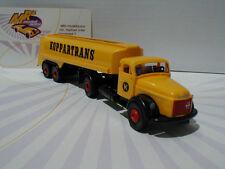 """Brekina 85613 - Volvo N 88 Tank-Sattelzug 2/2achs in gelb """" Koppartrans """" 1:87"""