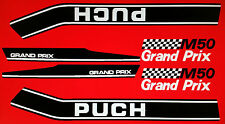 PUCH GRAND PRIX M50 MODELS  FULL  DECAL KIT