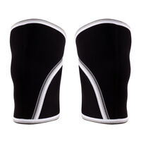 1 Pair 7mm Neoprene Knee Support Sleeves Wraps Fitness Squats Weightlifting