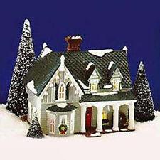 Dept. 56 Snow Village Lighted Bldgs. - Gothic Farmhouse Americana Collection