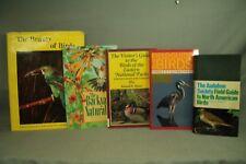 lot 5 Bird books.Audubon Society Field Guide to North American Birds Stokes East