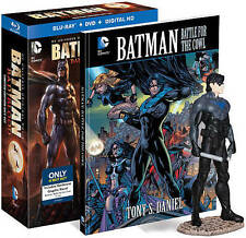 Batman:Bad Blood (Blu-ray/DVD,Digital Copy) Ltd Ed w/Metal Comic book & figure