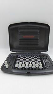 Saitek Gary Kasparov 2100 Electronic Table Top Portable Chess Computer See Below