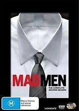 MAD MEN - COMPLETE SECOND SEASON / SERIES 2 - BRAND NEW & SEALED DVD, 3-DISC SET