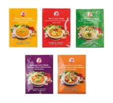 5 x 50g Set Cock Curry Paste Gelb Grün Rot Panang Matsaman Thai KLEINE PACKUNG 5