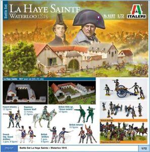IT6197Battle Set Waterloo 1815 - La Haye Sainte Full Pack Edition