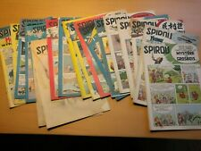 """Revues spirou & hebdomadaires, magazines au choix  """" année 1955 """" ( 874 à 924 )"""