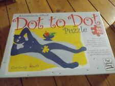 paul lamond 1000 piece jigsaw puzzle DOT TO DOT RECLINING DUDE NUDE new