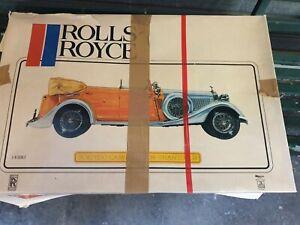 Pocher rolls royce torpedo cabriolet 1934 phanton 2 / 1/8- scale
