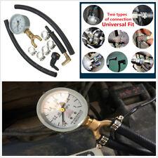 Universal Car Fuel Injection Pump Pressure Gauge Tester Car Gasoline Tester Kit