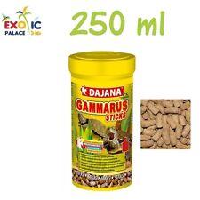 DAJANA GAMMARUS STICKS 250ml PER TARTARUGHE ACQUATICHE CIBO MANGIME GAMBERETTI