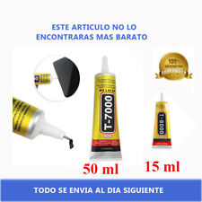 Zhanlida T7000 15ml y 50ml Pegamento Adhesivo Negro Pantallas Telefonos Moviles