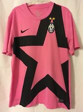 Nike Juventus 2011 / 2012 Away Pink Soccer Jersey Kit Large Dri-Fit