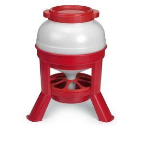 Silo-Geflügelfutterautomat für ca. 20 kg, Futterspender,Geflügel,Hühner,Küken
