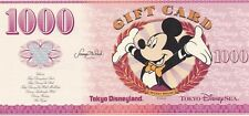 AD29Tokyo Disney Disneyland DisneySea Dollar 1000 YEN- Free US shipping
