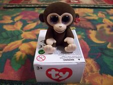 NEW TY MINI BOO HAND PAINTED FIGURINE COCONUT THE MONKEY !