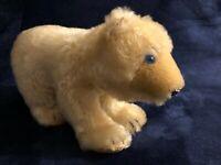 Steiff Eisbar 1950's 1960's Mohair Polar Bear blue glass eyes