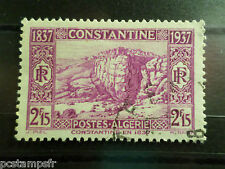 ALGERIE FRENCH COLONIES 1937, timbre 134, COSTANTINE, oblitéré, VF stamp