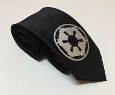 Star Wars Necktie, Imperial Logo , Cool And Stylish, Black Tie