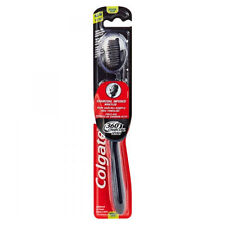 COLGATE 360 CHARCOAL INFUSED BRISTLES TOOTHBRUSH TOOTH BRUSH