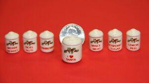Holiday Stuff Keepers!! Dollhouse Miniatures by Tim Van Schmidt