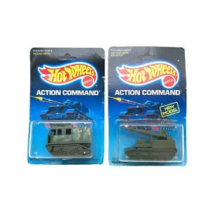 Hot Wheels Action Command Assault Crawler Rocketank Missile Launcher Rocket Tank