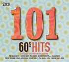 101 60'S HITS 5 CD BOXSET VARIOUS ARTISTS (SIXTIES) - NEW RELEASE MAY 2017