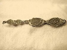 Grand Américain Sterling 1890's Table Lorgnette En Merveilleux Forme @ 125 Ans