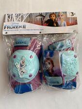 Disney Frozen II Equipo Protector Rodilla Y Codo Guantes Pastillas Juego Edad 3+