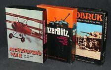 Role Playing Game Avalon Hill 1970s RPG x3 Richthofen's War Panzer Blitz Tobruk