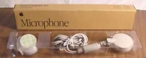 Vintage 1991, Apple Ordinateur Microphone, En Original Packaging 699-5103-A