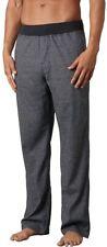 Prana 167744 Mens Vaha Wide-Leg Casual Pants Black Herringbone Size X-Large